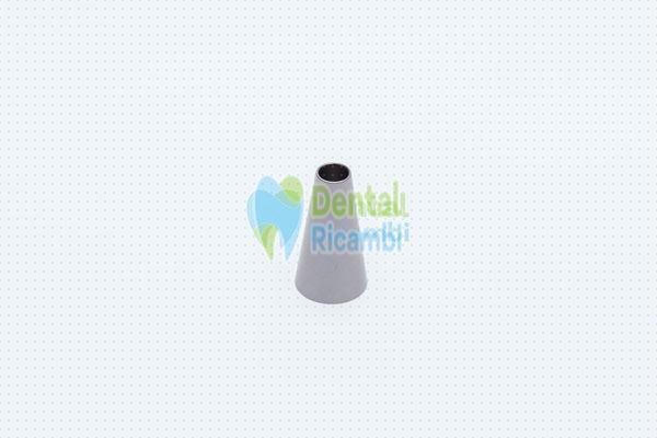 Immagine di Conetto acciaio impugnatura siringa aria/acqua MiniLight inox Luzzani (RL441)
