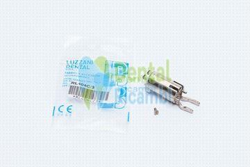 Immagine di Corpo rubinetto completo per siringa aria/acqua Luzzani MiniLight (RL404C)