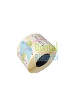 Picture of Label roll for label printing machine Printex 3 FARO (739304)
