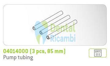 Immagine di Tubo pompa peristaltica Implantmed W&H 85mm confezione 3pz. (04014000)