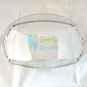 Immagine di Schermo frontale trasparente lampada dentale FARO modello EDI (306029)