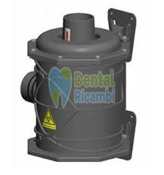 Immagine di CATTANI Filtro antibatterico Hepa H14 per aria espulsa aspiratore ( 042090 )